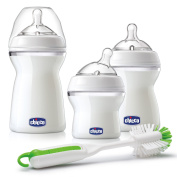 Chicco NaturalFit 3 Stage Feeding System Baby Bottle Gift Set