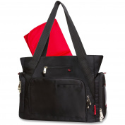 Fisher Price Fastfinder Deluxe Nappy Bag - Black Tote