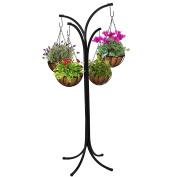 Woodstream Coropration HB4T-A 4 Arm Tree with Hanging Baskets