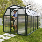 Rion Greenhouses EcoGrow 2 Twin Wall 2m W x 3.2m D Polycarbonate Greenhouse