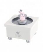 Bam Bam Duck Music Box New Baby Girl Christening Pink