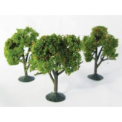 Simi Creative Products WS00325 Architectural Model Orange Trees 3-Pack