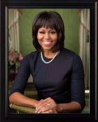 Michelle Obama 2013 official portrait 8x10 Framed Photo