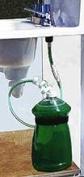 Never -Mt Soap Dispenser Kit - Never Fill the Little Bottle Again!
