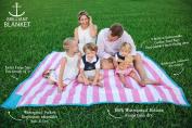 Palm Beach Crew Brilliant Blanket - Cabana Pink Stripes