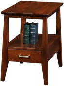 Leick Delton Storage Chair Side End Table with Drawer