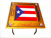 Puerto Rico Domino Table with the Flag -Full