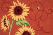 Jellybean Rug - Sunflower Solstice