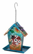 Regal Art and Gift Solar Lantern/Birdfeeder, Ladybug