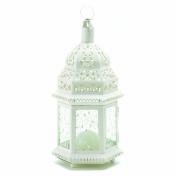 Malibu Creations White Moroccan Lantern
