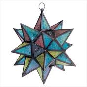 Moroccan Style Star Lantern #34690