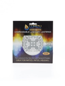 ChiChi Lumizu Luminaries Four Pack - Floating LED Candles with Batteries Inlcuded - Luminary Lanterns - Wedding, Party, Patio