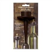 Bottelabra Wine Bottle Tealight Candle Holder - Bronze Finish