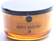 DW Home Maple Hazelnut Scented Large 3-wick Dish Candle