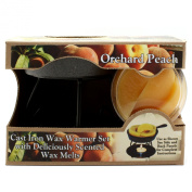 Bright Ideas Candle Wax Warmer Gift Pack, Orchard Peach