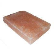 Natural Himalayan Salt Plate / Slab / Block Pink Rectangle 12x 8Inch x 5.1cm