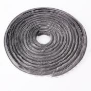 Seal Brush Pile Dust Excluder Self Adhesive Strip Tape 15mm for Door Window 5M Grey