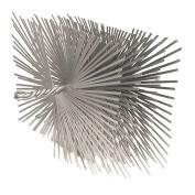 Woodeze Home Decorative Outdoor Fire Place Accessorie 18cm x 28cm Rect. Flat Wire Brush