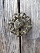 Fun Industrial All Metal Rustic 5.1cm FAUCET HANDLE Drawer Pull Knob/Coat Hook