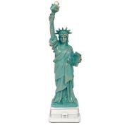 23cm Statue of Liberty Replica Figurine, Bronze Souvenir Statues Collection