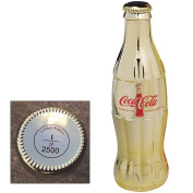 Celebrating 100 Years of the Coca-Cola Bottle Gold Plated