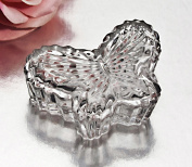 Fine Crystal 1.1m Covered Butterfly Box.