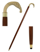 100cm Elephant Head Walking Stick - Inspired by Irish Walking Stick Designs - Handcrafted Canes and Walking Sticks