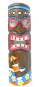 50cm HANDMADE COCKTAIL TIKI MASK HAWAIIAN POLYNESIAN WALL ART TRIBAL BAR TROPICAL