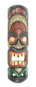 50cm HANDMADE TIKI MASK HAWAIIAN POLYNESIAN WALL ART TRIBAL BAR TROPICAL