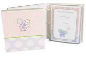 Baby Girl Memory Book - Elephant