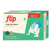 Flip 3-count Stay-dry Nappy Inserts