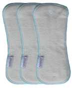 Buttons Hemp/Organic Cotton Nappy Inserts - Daytime - 3 Pack