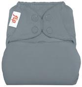 Flip Cloth Nappy Cover - Snap - Armadillo