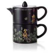 Hallmark DYG9125 Disney Winnie the Pooh Tea for One Teapot Set