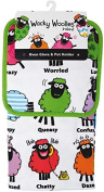Dublin Gift Wacky Woollies Towel, Pot Holder Set