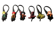 6 pcs Harry Potter Glass Charms Wineglass Drink Marker