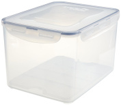 Lock & Lock Rectangular Food Container, Tall, 37-1/2-Cup, 304-Fluid Ounces