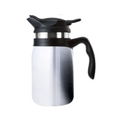 Timolino VPJ-60TE 590ml Majestica Coffee and Tea Maker, Brushed Stainless