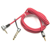 3.5mm & 6.5mm Replacement Audio Cable Headphone Cord for Monster Beats Pro Detox by Dr Dre