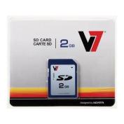 V7 VASD2GR-1N 2 GB Secure Digital (SD) Card - 1 Card