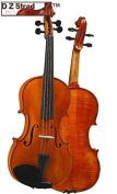 D Z Strad Violin Model 101 1/4 Violin with Case, Bow, and Rosin