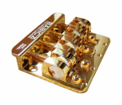 Babicz Full Contact Hardware 4-String Bass Bridge - Gold