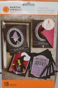 Martha Stewart Crafts Halloween Gothic Lace Witch Invitation Kit