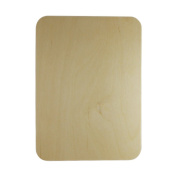 3 Wooden Rectangle Plaques 28cm X 20cm X 0.3cm