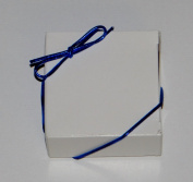 20cm Blue Stretch Loops 50ct for Candy Boxes / Jewellery Boxes