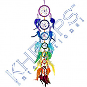 Kheops International - Beaded Dreamcatcher 7 Chakras