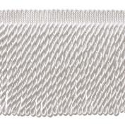 15cm Long WHITE Bullion Fringe Trim, Style BFS3 Colour