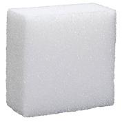 FloraCraft Styrofoam Block 5.1cm x 10cm x 10cm White