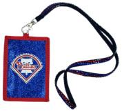 MLB Beaded Lanyard with Nylon Wallet