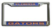 NCAA Laser Cut Chrome Licence Plate Frame